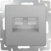 Выключатель перекрестный одноклавишный глянцевый никель Werkel a035273