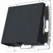 Розетка с заземлением и шторками глянцевый никель Werkel a034177 WL02-SKGS-01-IP44