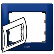Рамка Legrand Galea life одноместная (синий)