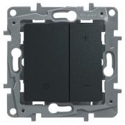 Светорегулятор 400Вт Etika (антрацит)