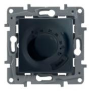 Терморегулятор для теплого пола Etika (антрацит)