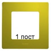 Рамка 1-ая Legrand Etika (зеленый папоротник)