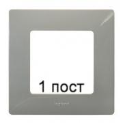 Рамка 1-ая Legrand Etika (светлая галька)