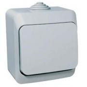 ЭТЮД Выключатель 1кл наружный IP44 серый