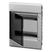 Бокс встраиваемый ABB Europa 24 мод. серый с прозрачной дверцей IP40