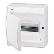 ABB Unibox Бокс настенный 12 мод. белый с белой дверцей IP41