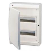 ABB Unibox Бокс настенный 24 мод. белый с белой дверцей IP41