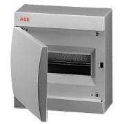 ABB Unibox Бокс настенный 8 мод. серый с серой дверцей IP41