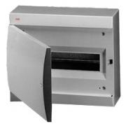 ABB Unibox Бокс настенный 12 мод. серый с серой дверцей IP41