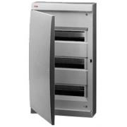 ABB Unibox Бокс настенный 36 мод. серый с серой дверцей IP41
