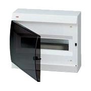 ABB Unibox Бокс настенный 12 мод. белый с прозрачной дверцей IP41