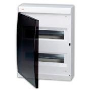 ABB Unibox Бокс настенный 24 мод. белый с прозрачной дверцей IP41