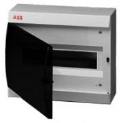 ABB Unibox Бокс настенный 12 мод. серый с прозрачной дверцей IP41