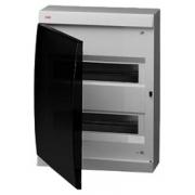 ABB Unibox Бокс настенный 24 мод. серый с прозрачной дверцей IP41