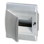 ABB Unibox Бокс встраиваемый 8 мод. белый с белой дверцей IP40