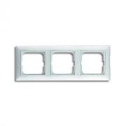 Рамка трехместная ABB Basic 55 альпийский белый 1725-0-1480