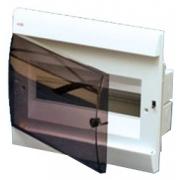 ABB Unibox Бокс встраиваемый 12 мод. белый с прозрачной дверцей IP40
