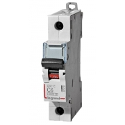 Автоматический выключатель Legrand DX3-E C6A 1п 6000/6kA