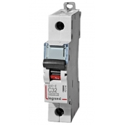 Автоматический выключатель Legrand DX3-E C32A 1п 6000/6kA