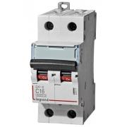 Автоматический выключатель Legrand DX3-E C16A 2п 6000/6kA