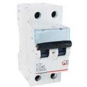Автоматический выключатель Legrand TX3 C40A 2п 6000