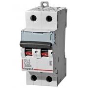 Автоматический выключатель Legrand DX3-E C32A 2п 6000/6kA