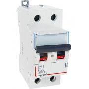 Автоматический выключатель Legrand DX3-E C63A 2п 6000/6kA