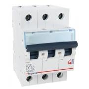 Автоматический выключатель Legrand TX3 C10A 3п 6000