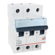 Автоматический выключатель Legrand TX3 C16А 3п 6000
