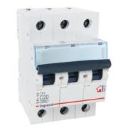 Автоматический выключатель Legrand TX3 C20A 3п 6000