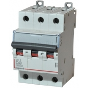 Автоматический выключатель Legrand DX3-E C40A 3п 6000/6kA