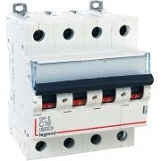 Автоматический выключатель Legrand DX3-E C16A 4п 6000/6kA