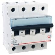 Автоматический выключатель Legrand TX3 C40A 4п 6000
