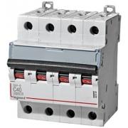 Автоматический выключатель Legrand DX3-E C40A 4п 6000/6kA