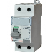 Дифференциальный выключатель Legrand ВДТ DX3-ID 2п 63А 100mА АС