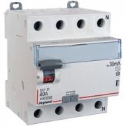 Дифференциальный выключатель Legrand ВДТ DX3-ID 4п 40А 30mА АС
