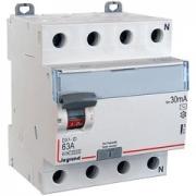 Дифференциальный выключатель Legrand ВДТ DX3-ID 4п 63А 30mА АС
