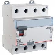 Дифференциальный выключатель Legrand ВДТ DX3-ID 4п 63А 100mА АС