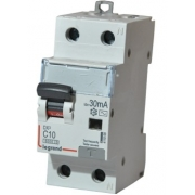 Дифференциальный автомат Legrand АВДТ DX3 1П+Н C10A 30mА АС