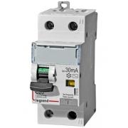 Дифференциальный автомат Legrand АВДТ DX3 1П+Н C20A 30mА АС