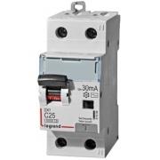 Дифференциальный автомат Legrand АВДТ DX3 1П+Н C25A 30mА АС