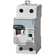 Дифференциальный автомат Legrand АВДТ DX3 1П+Н C32A 30mА АС