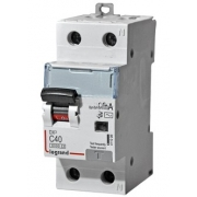 Дифференциальный автомат Legrand АВДТ DX3 1П+Н C40A 30mА АС