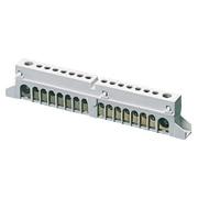 Gewiss Изолированные клеммные блоки N+PE для щитов и шкафов, 18 мод, винтами и/или защелк.
