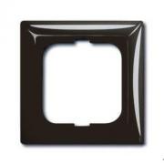 Рамка одинарная ABB Basic 55, цвет шато-черный
