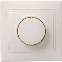 ВСР10-1-0-ККм Светорегулятор поворот КВАРТА (кремовый)