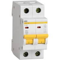 IEK Автоматический выключатель ВА47-29 2Р 40А 4,5кА х-ка С