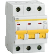 IEK Автоматический выключатель ВА47-29 3Р 20А 4,5кА х-ка С