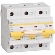 IEK Автоматический выключатель ВА 47-100 3Р 32А 10 кА х-ка С