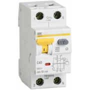 IEK Дифференциальный автомат АВДТ 32 C40 30мА